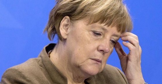 Angela Merkelová má dilema