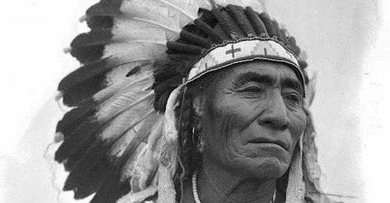 Unikátní fotografie indiánů z přelomu 19. a 20. století, poprvé