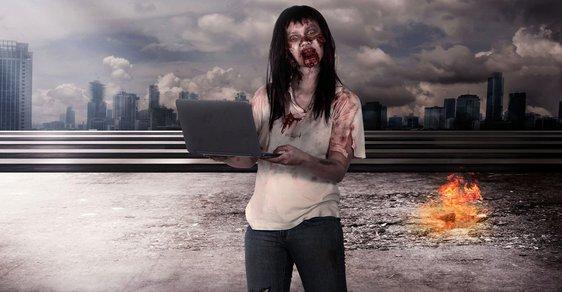 Stejně jako hororové zombie požírají lidské mozky, tak živé mrtvé firmy požírají ekonomiku