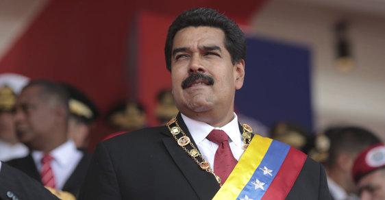 """Venezuelský prezident Nicolás Maduro přiznal, že je """"hloupý jako koza""""."""