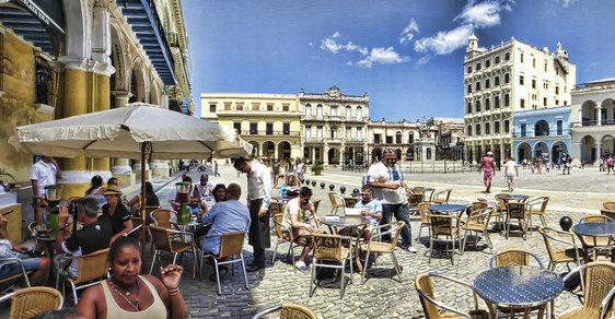 Restaurace na Kubě směly fungovat jako rodinné podniky. Často zákon obcházely.