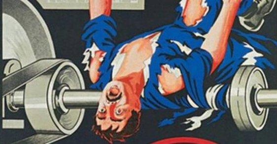 Opatrně s vidlemi! Krvavé sovětské plakáty o bezpečnosti práce