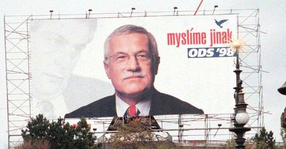 Politika a sport. Život Václava Klause v 75 fotografiích