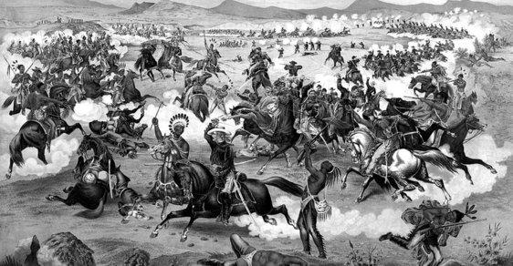 Masakr u Little Big Hornu. Před 140 lety indiáni rozprášili oddíl generála Custera