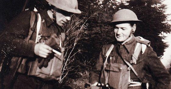 Operace Anthropoid: Před útokem na Heydricha. Podívejte se na unikátní záběry z výcviku v Británii
