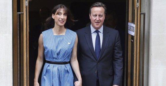 Premiér David Cameron svůj úřad opustí již tuto středu.