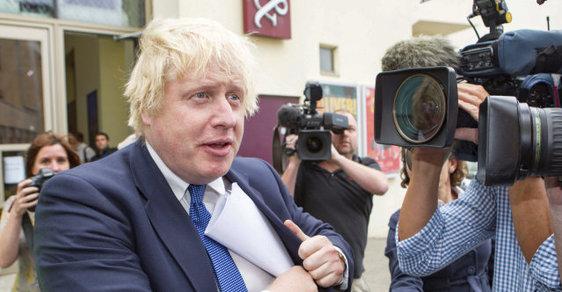 """Novým ministrem zahraničních věcí Velké Británie se stal propagátor """"Brexitu"""" Boris Johnson."""