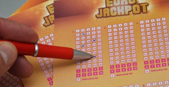 Obří jackpot v evropské loterii v pátek padl, výherce z Hesenska si přijde téměř na 85 milionů eur (ilustrační foto)