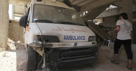 Jen loni v červenci bylo v Sýrii provedeno 43 útoků na zdravotnická zařízení