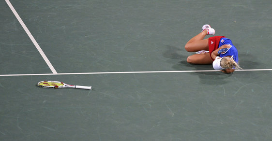Rozhovor s tenistkou Hlaváčkovou, kterou ránou do oka odrovnala Hingisová