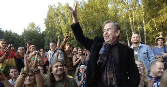 Ikonou festivalu byl v minulosti prezident Václav Havel