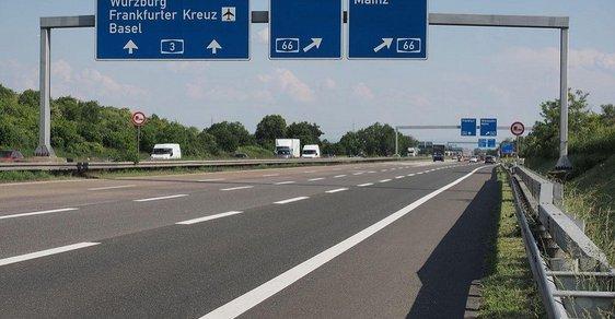 Typická německá dálnice