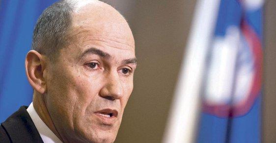Lídr Slovinské demokratické strany Janez Janša