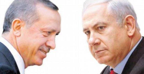 Turecký prezident Recep Erdoğan a izraelský premiér Benjamin Netanjahu. Jejich vztahy se dramaticky zhoršují