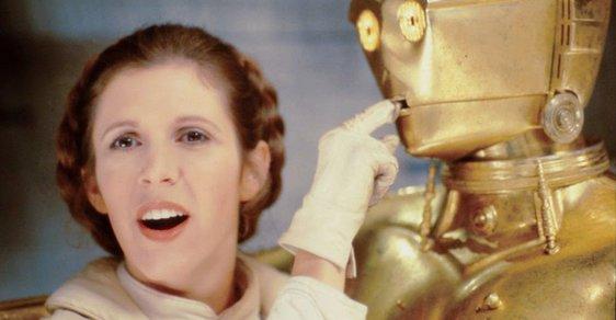 Unikátní fotografie odhalují zákulisí natáčení Star Wars.