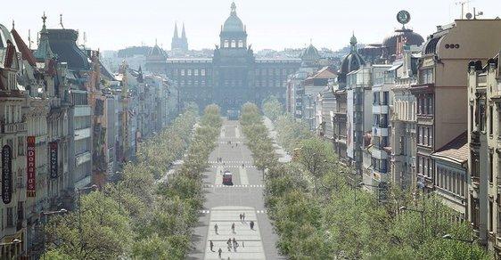 Rekonstrukce za dvě stě milionů: Václavské náměstí se dočká velké proměny
