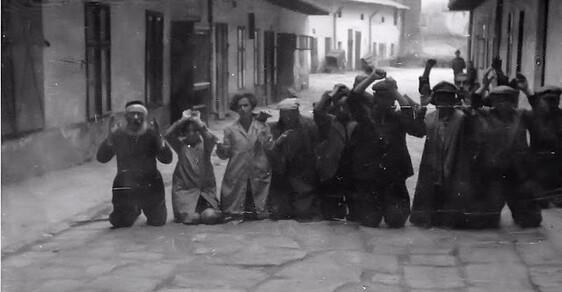 25 šokujících historických fotografií z pogromu na Židy v ukrajinském Lvově