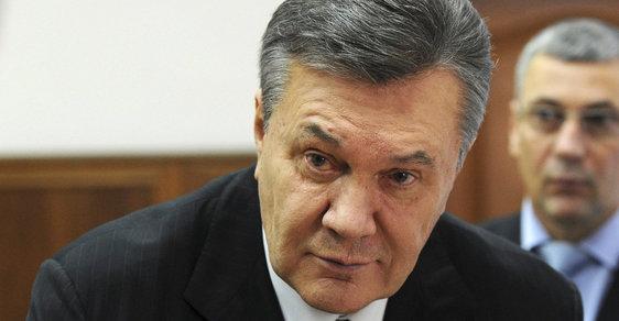Ukrajinský exprezident Viktor Janukovyč