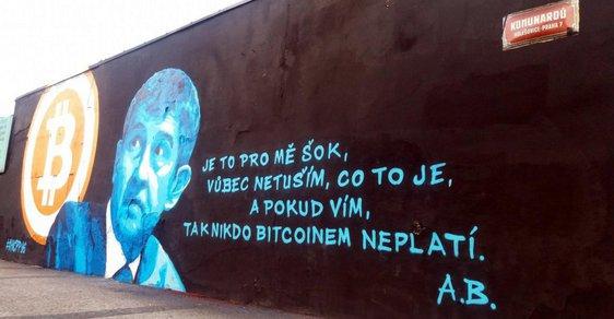 Babiš a bitcoin