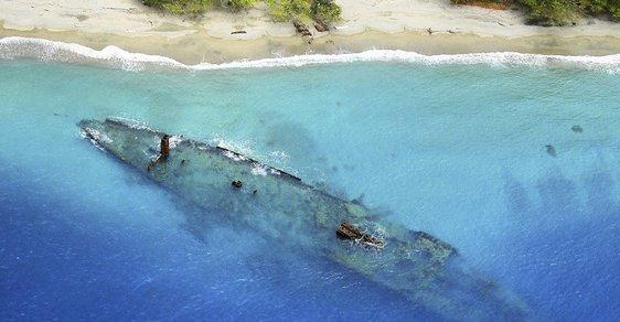 Kouzelná příroda, nebo pohřebiště vraků? Podívejte se na místa, kde 2. světová válka stále žije