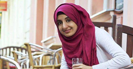 Česká muslimka Eman Ghalebová