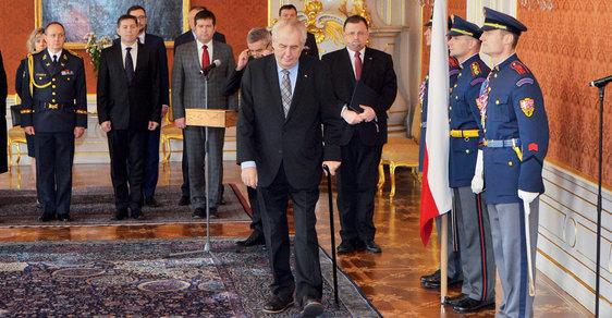 Co nastane, až Miloš Zeman oznámí, že nebude kandidovat, nebo prostě nebude?