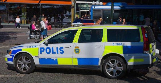 Švédská policie - ilustrační snímek