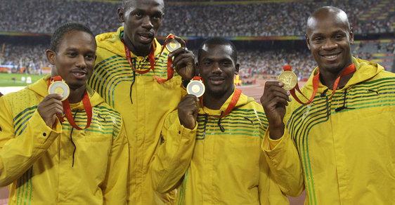 Bolt přišel kvůli dopingu kolegy o olympijské zlato ze štafety