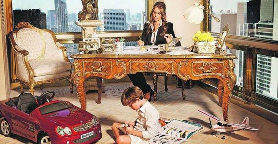 Melania Trumpová se stala první dámou a… zmizela veřejnosti z očí. Stejně to udělala Michelle Obamová