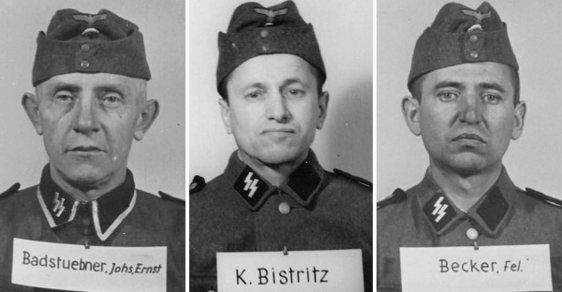 Zločinci, kteří vraždili v Osvětimi. Podívejte se do očí lidem, kteří mají na svědomí životy tisíců Čechů
