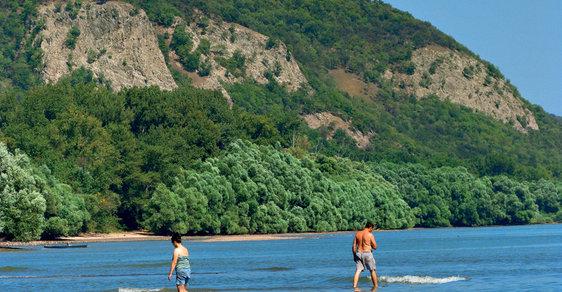 Džungle i mořské pobřeží u Dunaje