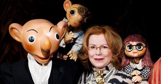 Ve věku 72 let zemřela loutkoherečka Helena Štáchová, hlas Hurvínkovy Máničky nebo Lízy Simpsonové