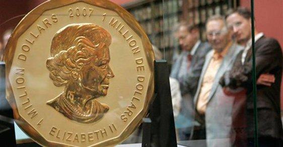 Drahá obrovská mince byla ukradena v Berlíně.