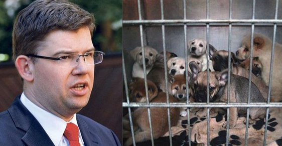 Předseda TOP 09 Jiří Pospíšil se dlouhodobě věnuje ochraně zvířat