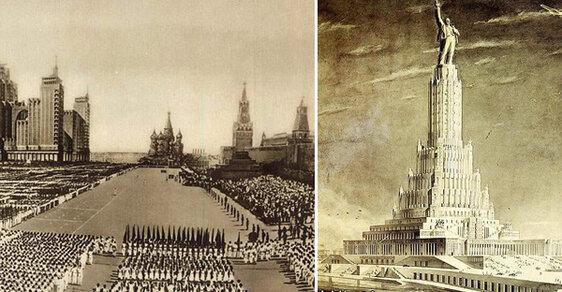 Stalinův sen: Podívejte se, jak měla Moskva vypadat podle diktátorových megalomanských plánů