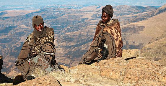 bzučení z jižní afriky