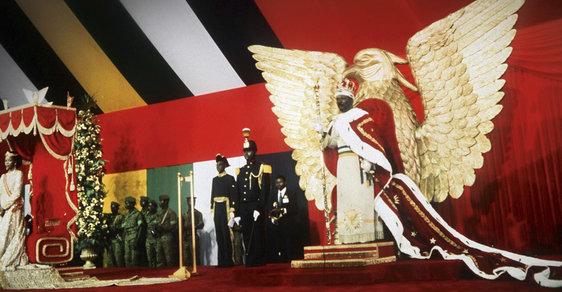 Africký diktátor, císař atřináctý apoštol spodezřelou lednicí