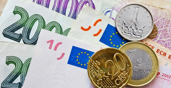 Koruna je nejsilnější od intervencí, přiblížila se k 26,10 Kč/EUR  - ilustrační foto