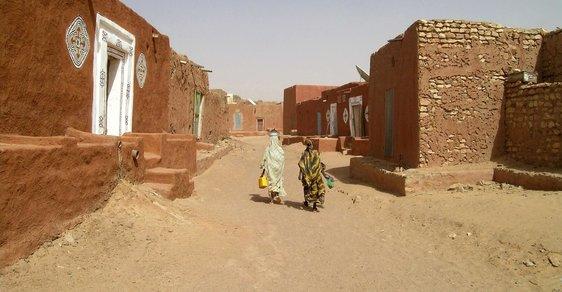 Waláta: Cesta za originální architekturou do města ztraceného v poušti Mauritánie