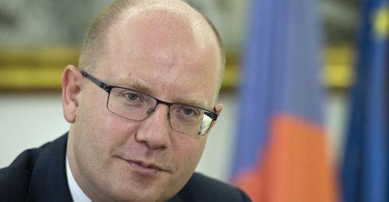 Premiér Bohuslav Sobotka