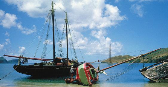Karibské zapadákovy: Vítejte na ostrovech Bequia, Barbuda, Canouan a souostroví Bahía