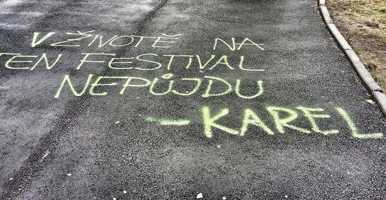 Na tenhle festival nikdy nepůjdu! Nebo možná jo...