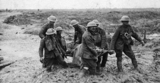 31. července 1917 začala útokem u Yprů dlouho připravovan8 ofenzíva ve Flandrech