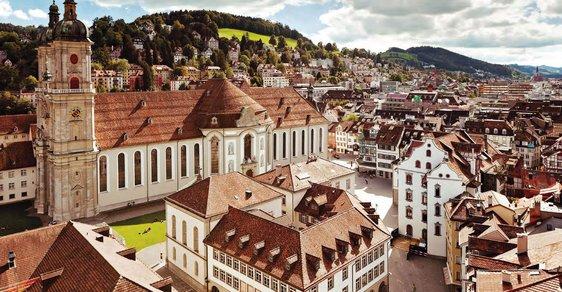 Malebné město plné kultury, historie a skvělého jídla. Švýcarský St. Gallen potěší všechny vaše smysly