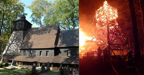 Pomsta bohu? Soud potvrdil tresty za zapálení vzácného dřevěného kostela v Gutech ze 16. století