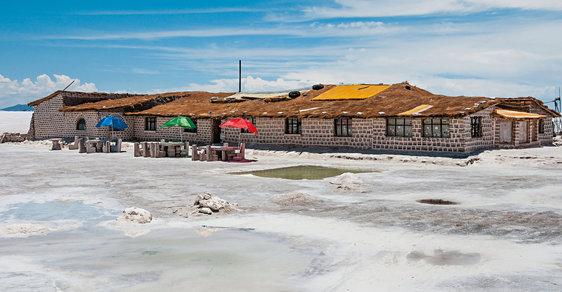 Hotel v Salar de Uyuni