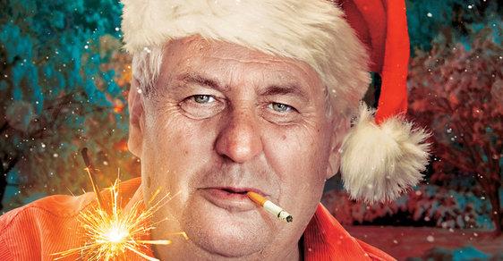 Santa Claus Miloš Zeman - ilustrační koláž