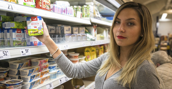 Potraviny podraží - ilustrační foto