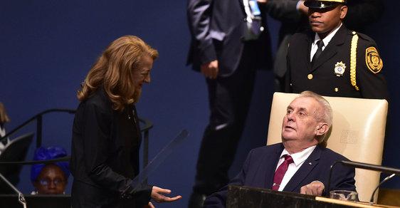 Miloš Zeman působí v zahraniční vždy soustředěně a reprezentativně...
