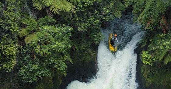 Bublinková koupel v peřejích aneb Ráj vodáků jménem Nový Zéland